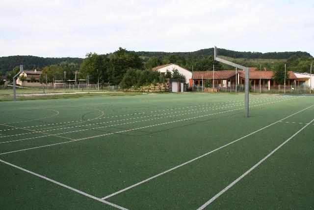 Gießbachhalle - Außenanlage
